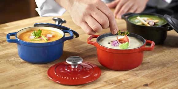 Kolorowa kuchnia z Chasseur