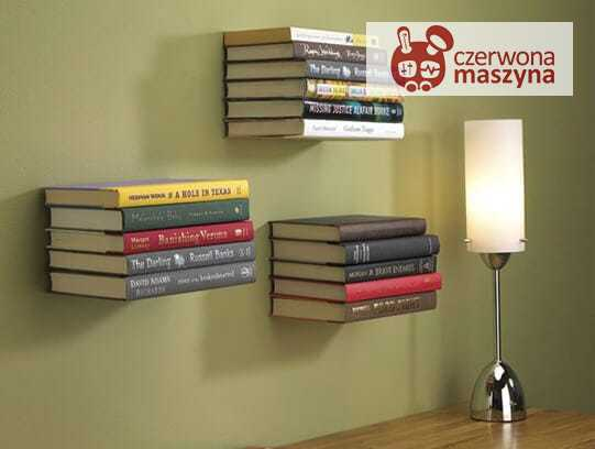 Niewidzialna półka na książki Umbra Conceal