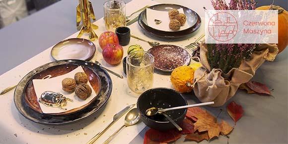 Jesienny stół w dwóch odsłonach