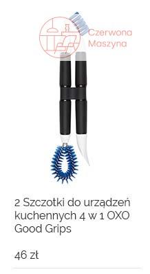 2 Szczotki do urządzeń kuchennych 4 w 1 OXO Good Grips