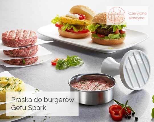 Praska do burgerów Gefu Spark
