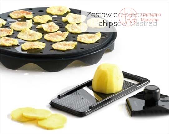 Zestaw do pieczenia chipsów Mastrad