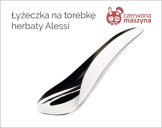 Łyżeczka na torebkę herbaty Alessi