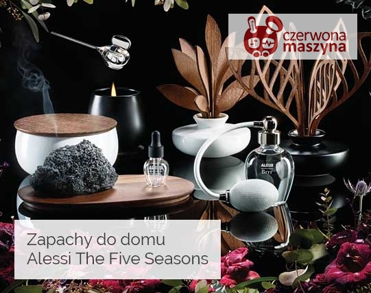 Dyfuzory zapachu i świece Alessi Five Seasons