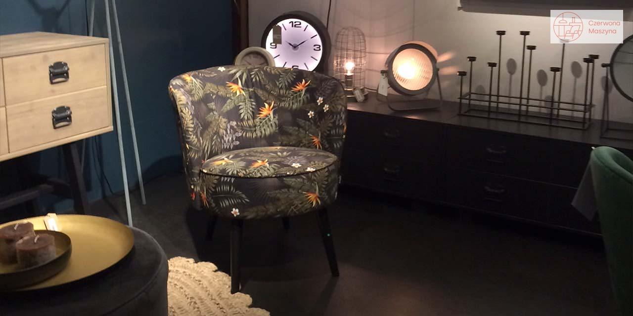Kwiecisty fotel