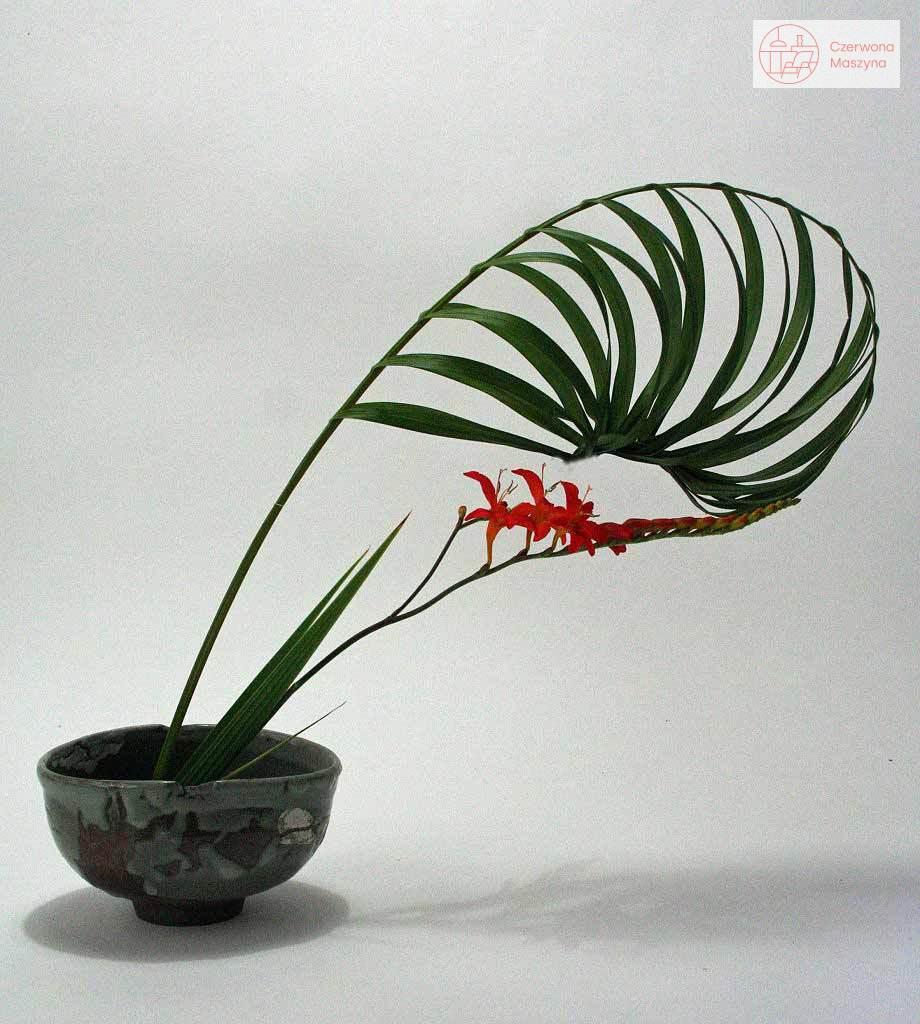 Ikebana w miseczce