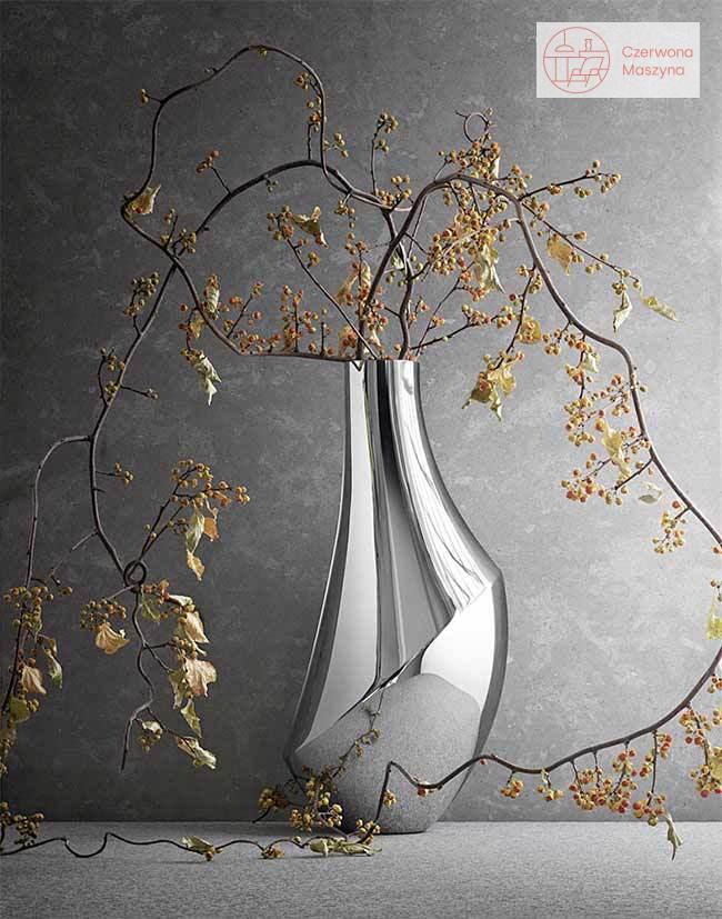 Ikebana w wazonie Georg Jensen Flora