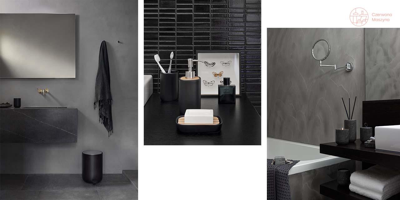 Łazienka w czerni, czy czerń w łazience?