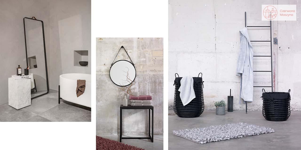 Łazienka w czerni - styl industrialny