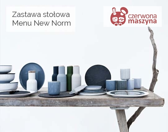 Zastawa stołowa Menu New Norm
