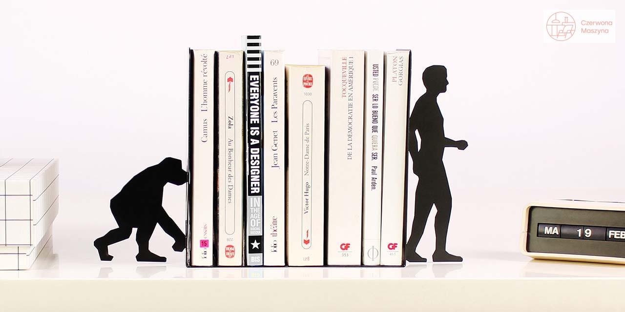 Biurowa nieoczywistość - podpórki do książek Doiy Evolution