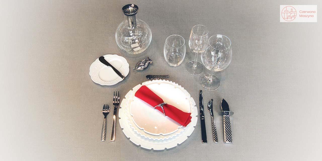 Formalne nakrycie stołu