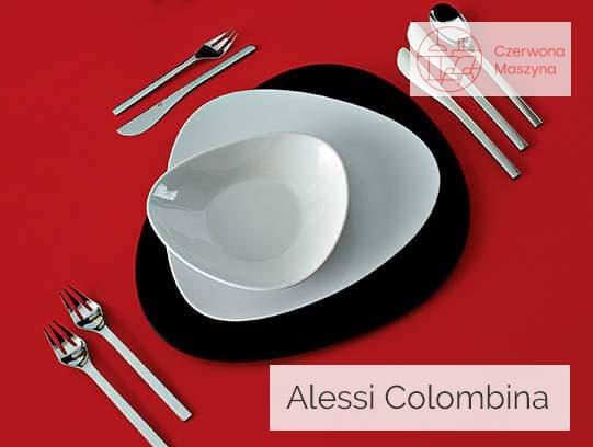 Zastawa stołowa Alessi Colombina