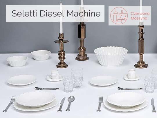 Zastawa stołowa Seletti Diesel Machine