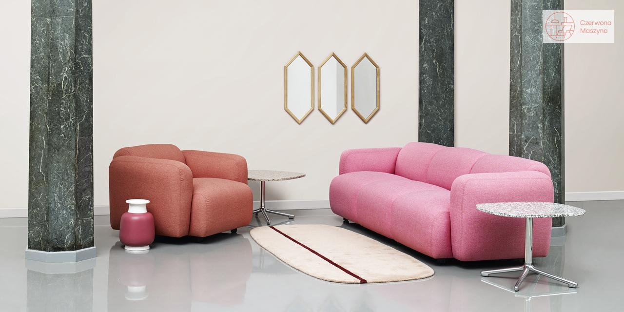 kanapa w stylu retro