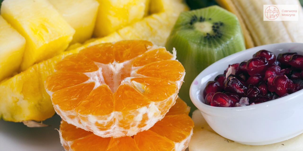 Kawałki owoców