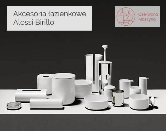 Kolekcja akcesoriów łazienkowych Alessi Birillo