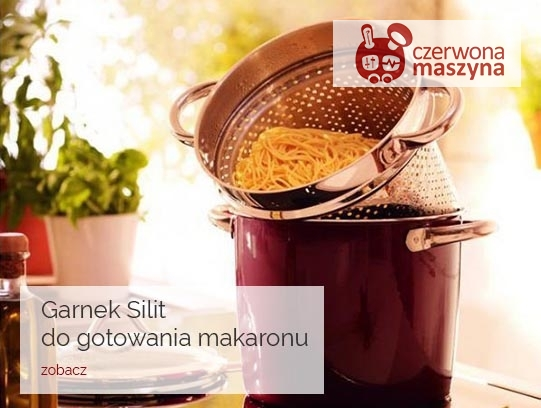 Garnek do gotowania makaronu Silit