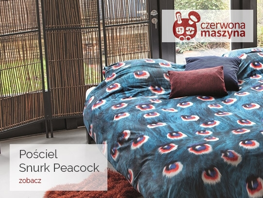 Pościel na prezent ślubny: Snurk Peacock