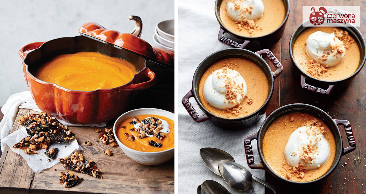 Jesienna zupa dyniowa